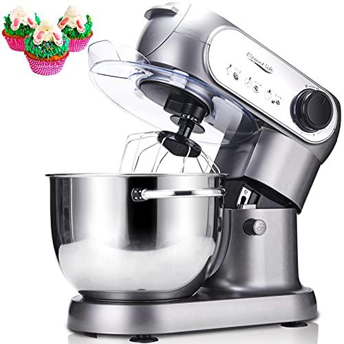 Küchenmaschine, Elegant Life 1200W Auto-Knetmaschine Rührgeräte mit 5.5L Edelstahl...