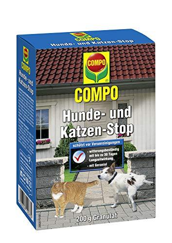 Compo Hunde- und Katzen-Stop, Fernhaltemittel zum Schutz vor Verunreinigungen, Granulat...