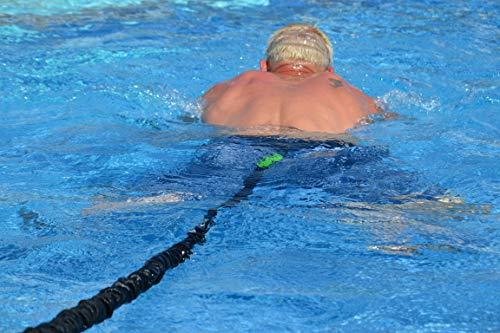 BodyCROSS Schwimmtrainer | optimales Schwimmen ohne Gegenstromanlage | für jeden Pool...