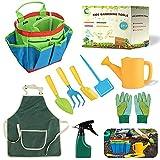 Daohexi 9 Gartengeräte für Kinder, Gartengeräte für Kinder im Freien, Werkzeugtasche,...