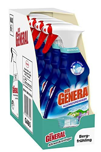 Der General Universal Bergfrühling, Allzweckreiniger Spray für hygienische Sauberkeit...
