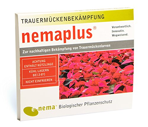 nemaplus® SF Nematoden zur Bekämpfung von Trauermücken - 6 Mio. für 12m² Blumenerde...