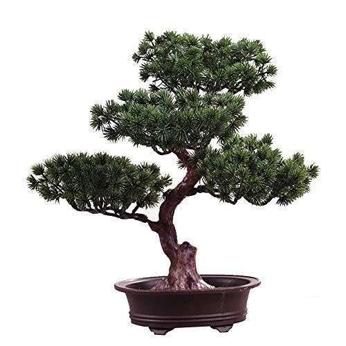 FADDARE Künstlicher Bonsai-Baum, einladender dekorativer Bonsai der...