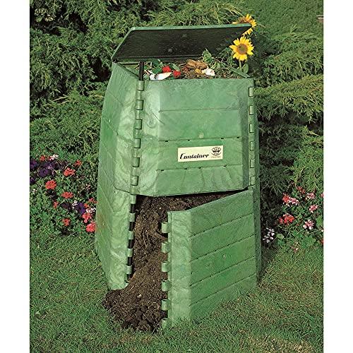 Hochwertiger Thermokomposter aus dickwandigem Kunststoff für Küchen- und Gartenabfälle...