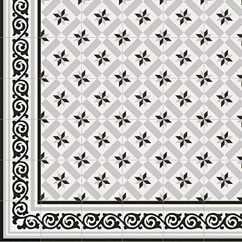 Casa Moro Mediterrane Keramik-Fliesen Rahma 20x20 cm matt 1 qm aus glasiertem Steinzeug in...