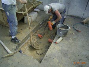 Drainage unter Bodenplatte