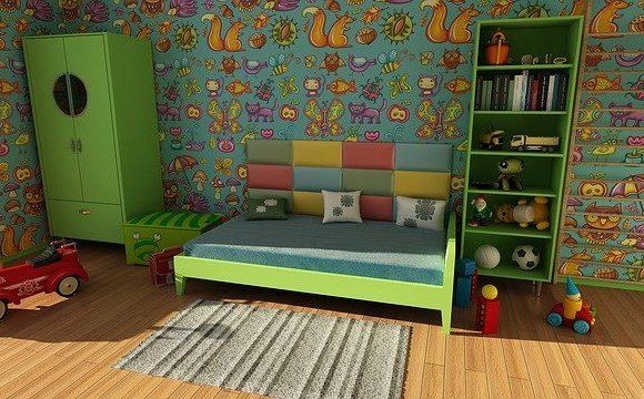 Bücherregal im Kinderzimmer – ideal in durchdachter Einrichtung