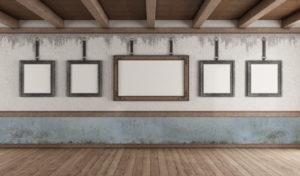 Bilderrahmen sind Designklassiker und verschönern jede Wohnung.
