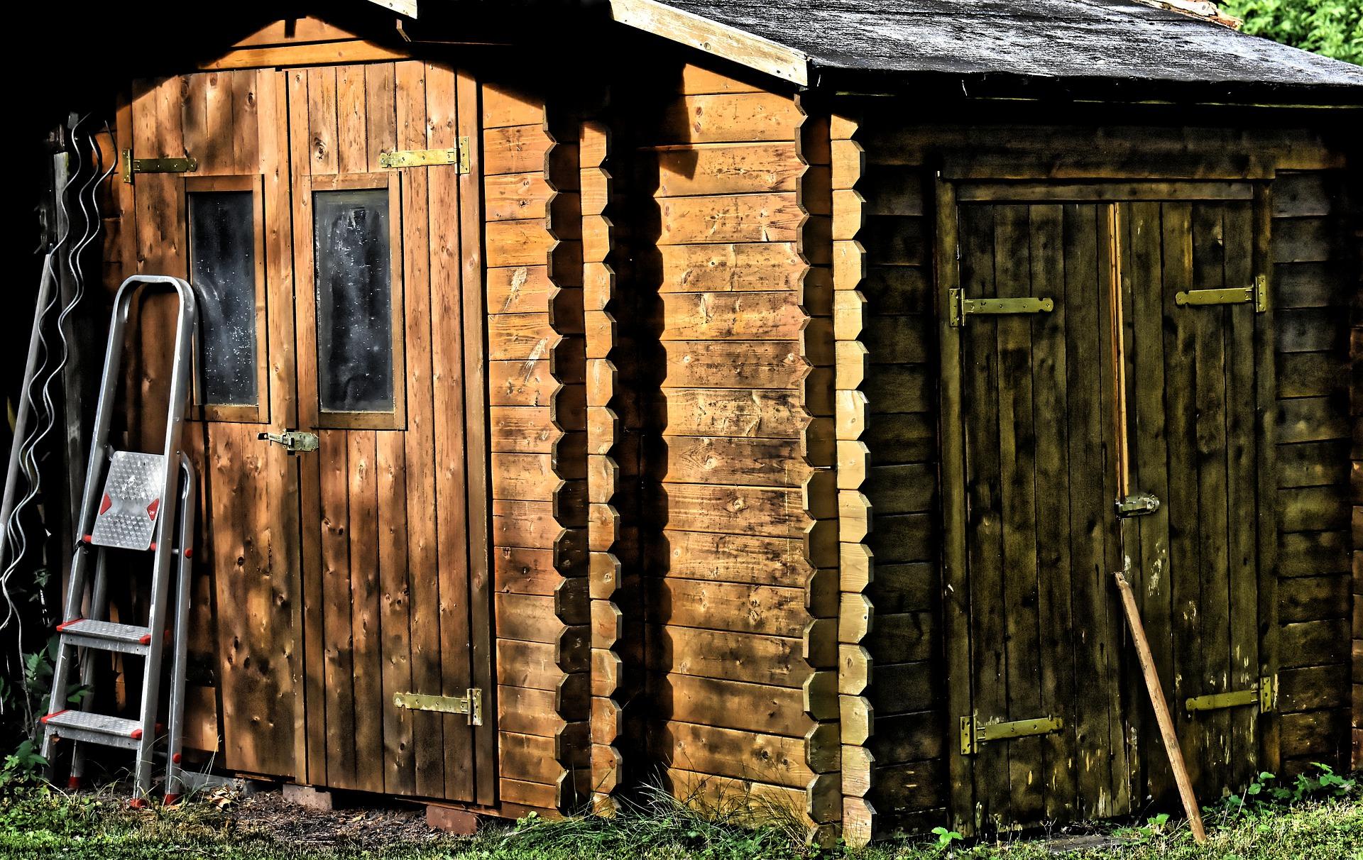 Ein Gartenhaus aus Holz hat viel Charme. Bild Alexas_Fotos/Pixabay