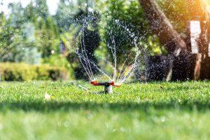 Eine Bewässerungsanlage für den Garten spart Zeit und Kosten. Foto gorlovkv via Twenty20