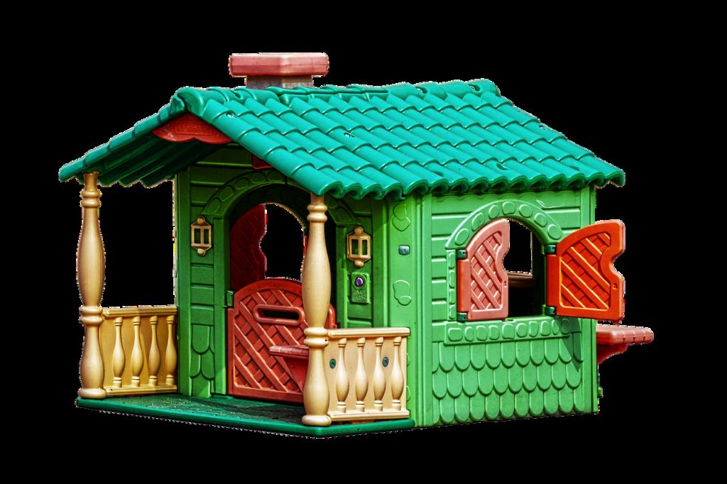 Fertig-Gartenhaus aus Kunststoff