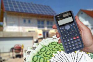 Hausbau Finanzierungsgespräch Bank