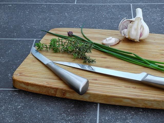 Küchenmesser Schnitttechniken