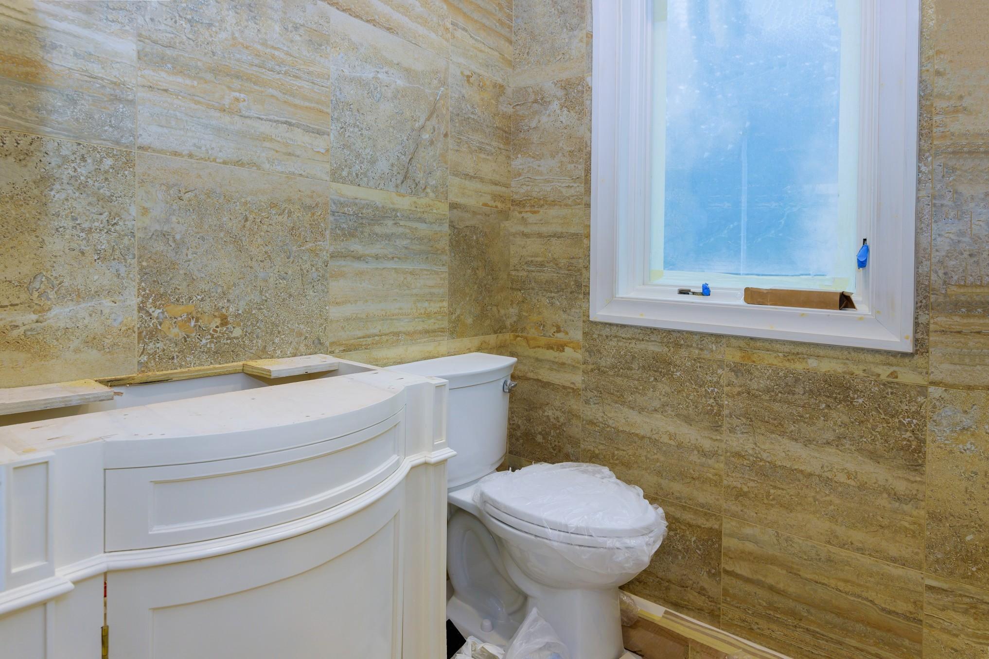 Mit einem Modernisierungskredit kann auch das Bad neu gestylt werden. Foto photovs via Twenty20