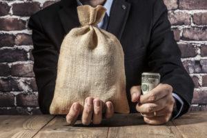 Sichere und unsichere Geldverstecke.