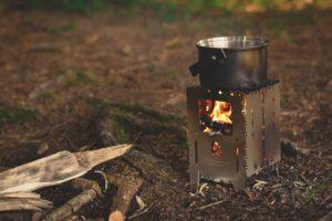 Wärme und Gemütlichkeit mit einer Feuerstelle im Garten oder auf der Terrasse.