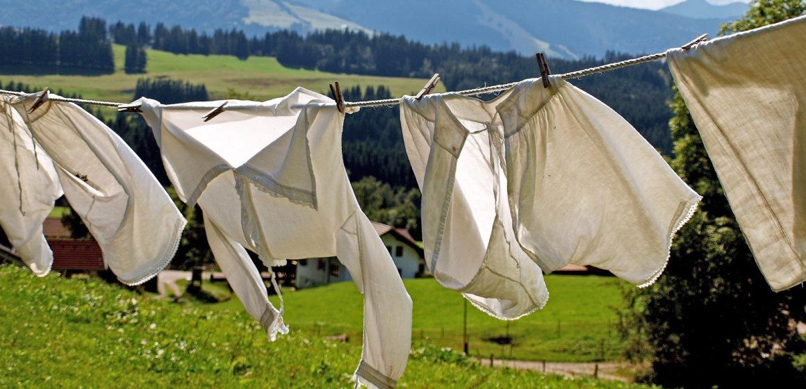 Mietvertrag: An die Wäsche